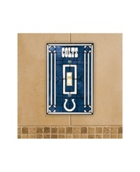 Memory Company Indianapolis Colts Switch Plate Cover Team Color