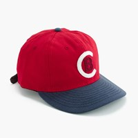 Ebbets Field Flannels For J.Crew Cleveland Buckeyes Ball Cap Denim Baseball Hat Cleve