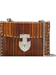 Bertoni 1949 'Edita' Shoulder Bag Brown