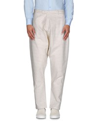 Camo Trousers Casual Trousers Men Ivory