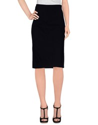 Twin Set Simona Barbieri Skirts Knee Length Skirts Women Black