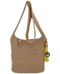The Sak Casual Classics Crochet Crossbody Bamboo