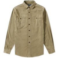 Polo Ralph Lauren Williamsburg Military Twill Overshirt Green