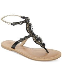 Dolce By Mojo Moxy St. Tropez Embellished Flat Sandals Women's Shoes