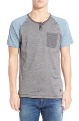 Men's Imperial Motion 'Lefty' Short Sleeve Colorblock Henley