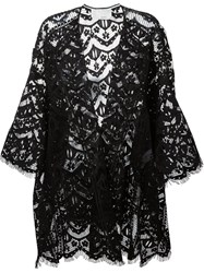Chloe Lace Cardigan Black