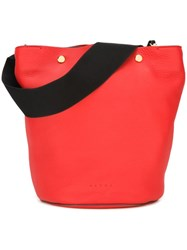 Marni 'Bucket' Tote Red