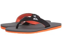 Quiksilver Molokai Layback Grey Grey Grey Men's Sandals Gray