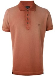 Diesel 'Thamal' Polo Shirt Red