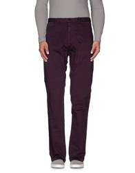 Scotch And Soda Trousers Casual Trousers Men Purple