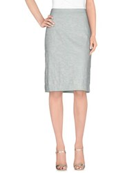 Gigue Skirts Knee Length Skirts Women Sky Blue