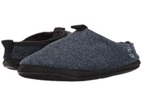 Bedroom Athletics Travolta Navy Fleck Men's Slippers