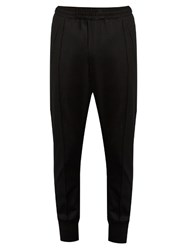 Wooyoungmi Stretch Wool Track Pants Black