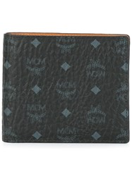 Mcm Small 'Claus' Bifold Wallet Black