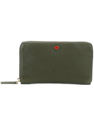 Lulu Guinness Zip Up Wallet Green