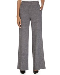 Escada High Wide Leg Woven Pant Black