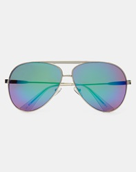 Jeepers Peepers Sol Revo Aviator Silver