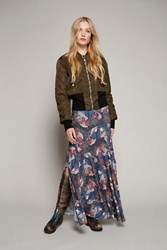 Free People Womens Skirting With Fate Maxi
