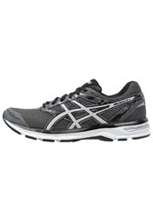 Asics Gelexcite 4 Cushioned Running Shoes Carbon Silver Black Dark Gray