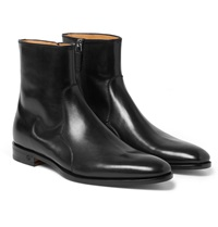 Gucci Leather Chelsea Boots