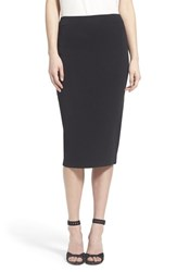 Trouve Women's Trouve Sweater Knit Pencil Skirt Black