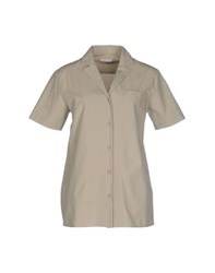 Tomas Maier Shirts Shirts Women Light Grey