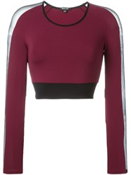 Michi Longsleeved Cropped Top