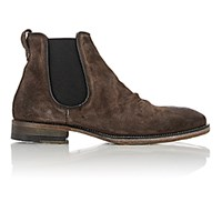 John Varvatos Men's Fleetwood Classic Chelsea Boots Dark Grey