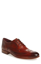 Ted Baker Men's London 'Gryene' Wingtip Oxford Tan