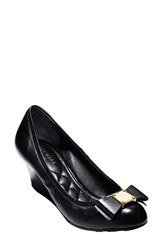 Women's Cole Haan 'Tali Grand' Bow Wedge Pump Black