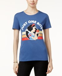 Hybrid Disney Juniors' Snow White Graphic T Shirt Indigo
