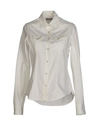 Macchia J Denim Denim Shirts Women White