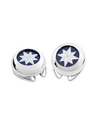 Forzieri Windrose Silver Plated Button Covers