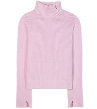 Proenza Schouler Wool And Cashmere Sweater Purple