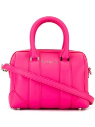 Givenchy Micro 'Lucrezia' Tote Pink And Purple