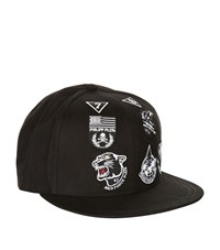 Philipp Plein Be Bold Air Force Cap Unisex Black