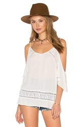 Heartloom Iris Top White