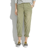 Madewell Chimala Chambray Baggy Trousers