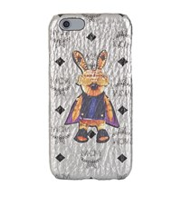 Mcm Rabbit Iphone 6S Case Female Silver