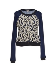 Manoush Cardigans Dark Blue