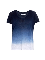 Velvet By Graham And Spencer Emerald Ombre Jersey T Shirt