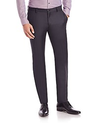 Giorgio Armani Wool And Cashmere Dress Pants Navy