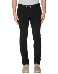 Vigano' Casual Pants Black