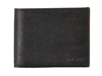 Jack Spade Barrow Leather Slim Billfold Black Bill Fold Wallet