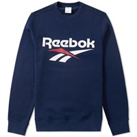 Reebok Vector Crew Sweat Blue