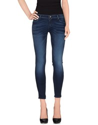 Fifty Four Denim Denim Trousers Women Blue