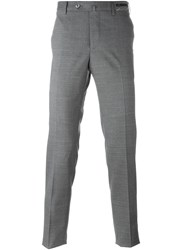 Pt01 Tailored Slim Trousers Grey