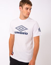 Umbro By Kim Jones Umbro Pro Training Spirit T Shirt White