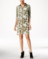 G.H. Bass And Co. Camo Print Shirtdress Jungle