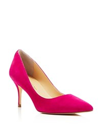 Ivanka Trump Tirra Pointed Toe Pumps Pink